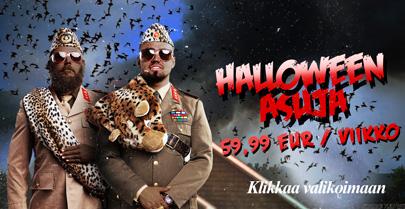 Vuokra-asuja Halloween-juhlaan