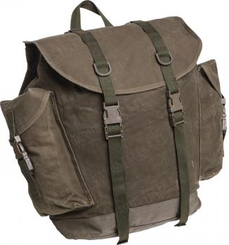 BW mountain troops rucksack, used