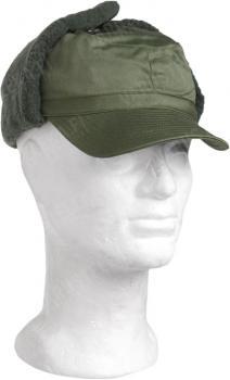 Swedish M59 winter hat, green, used
